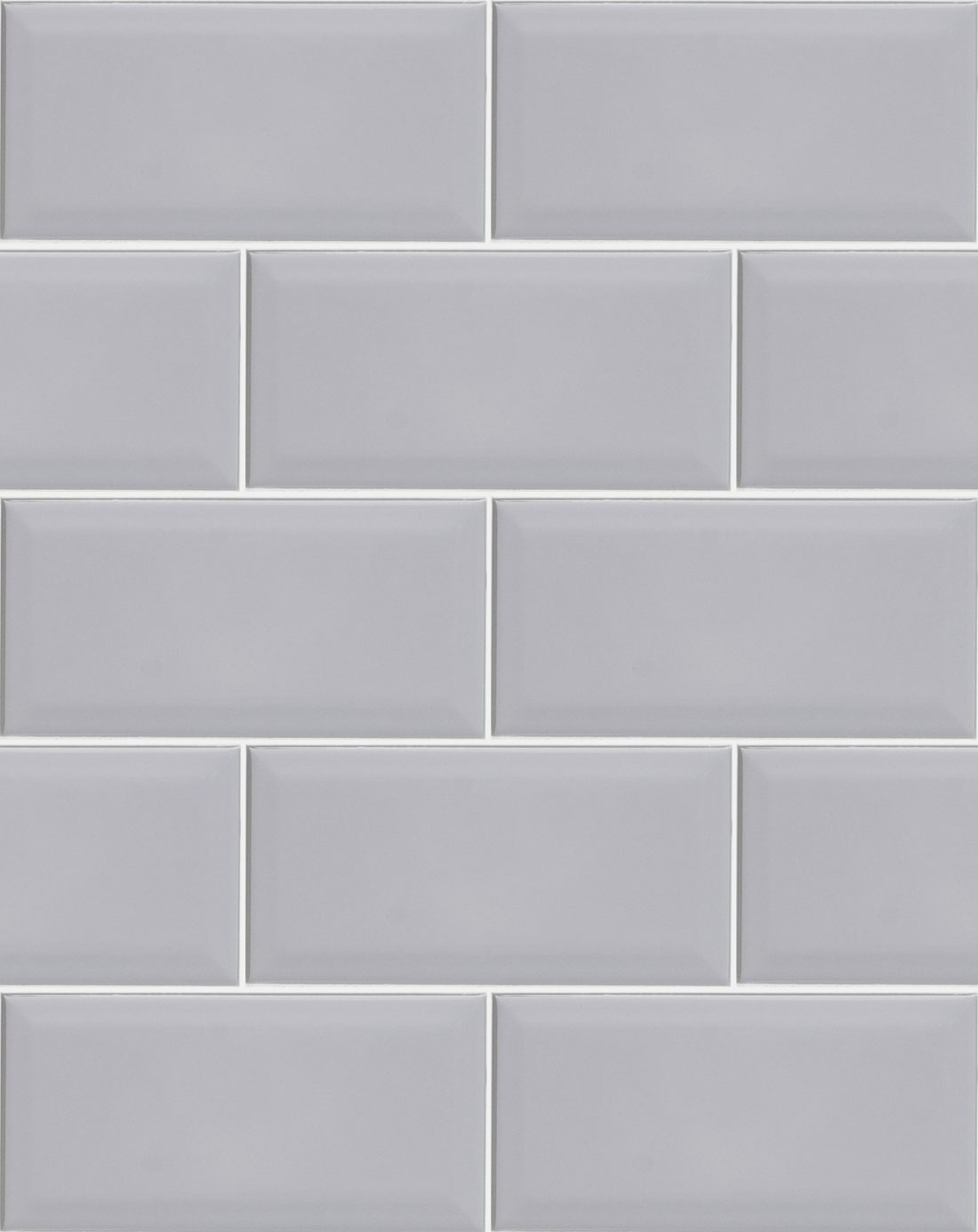 Metro Light Grey Wall Tiles Kitchen