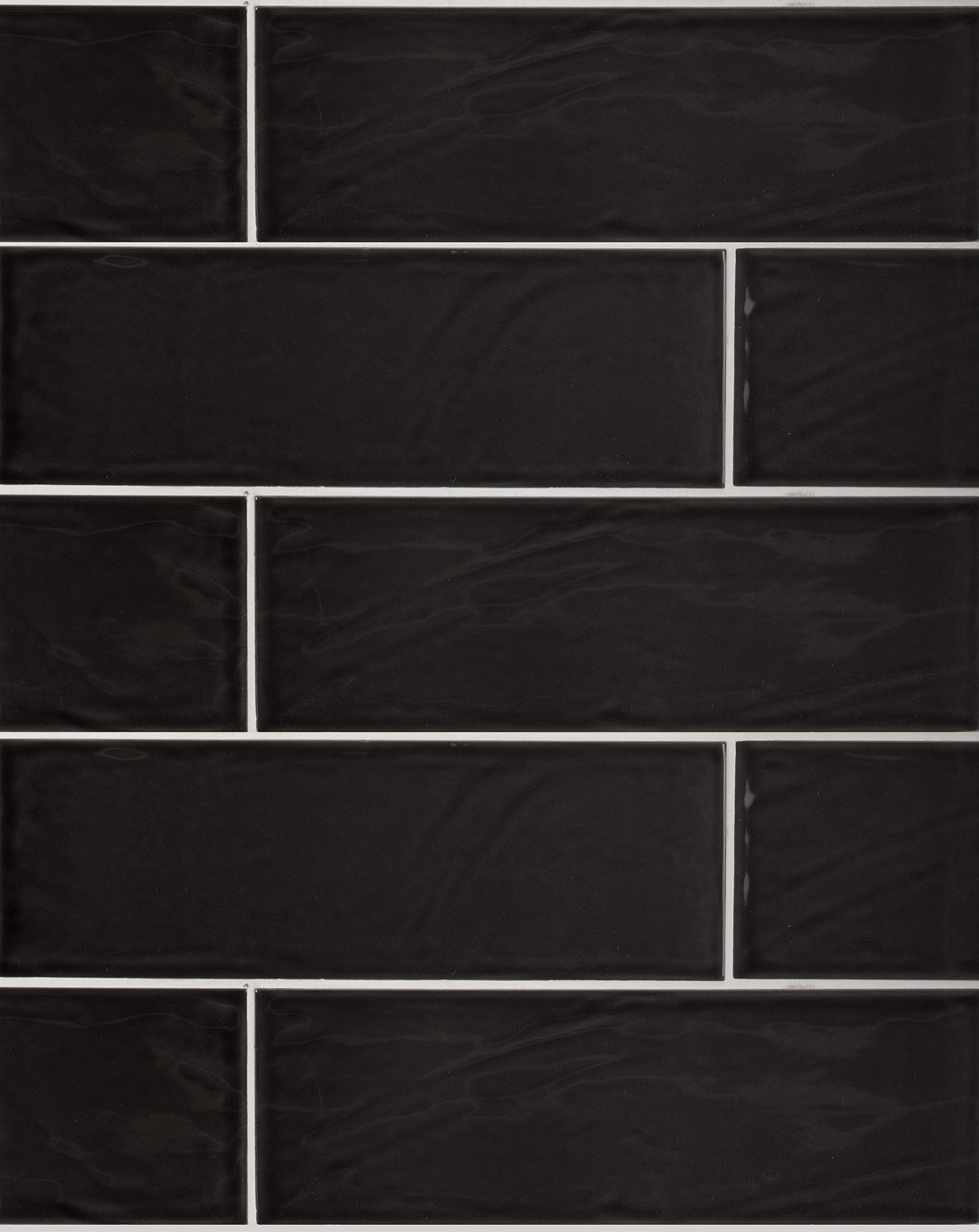 Bulevar Ripple Antique Anthracite Wall Tile Kitchen