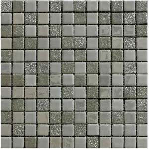 Sundance Plata Grey Mosaic Wall Tile - www.kitchentilesdirect.com