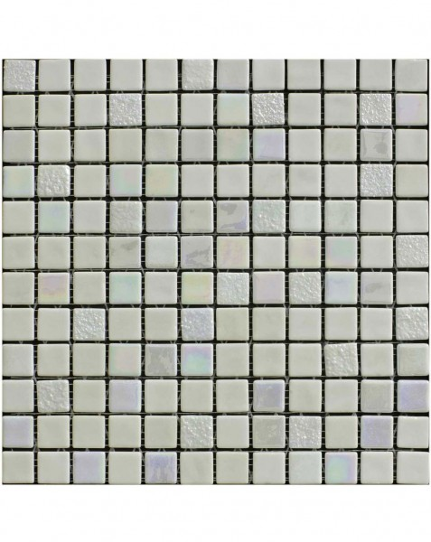 Sundance Blanco White Mosaic Wall Tiles - www.kitchentilesdirect.com