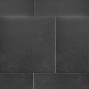 Unistone Black Kitchen Floor Tiles - www.kitchentilesdirect.com