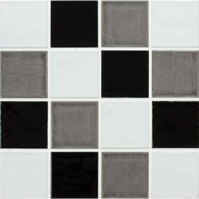 Blanoc Temple Tiles, Gris Temple Tiles & Negro Temple Tuiles - www.kitchentilesdirect.com