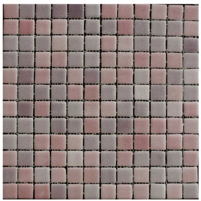 Lilac & Pink Mosaic Wall Tiles - www.kitchentilesdirect.com