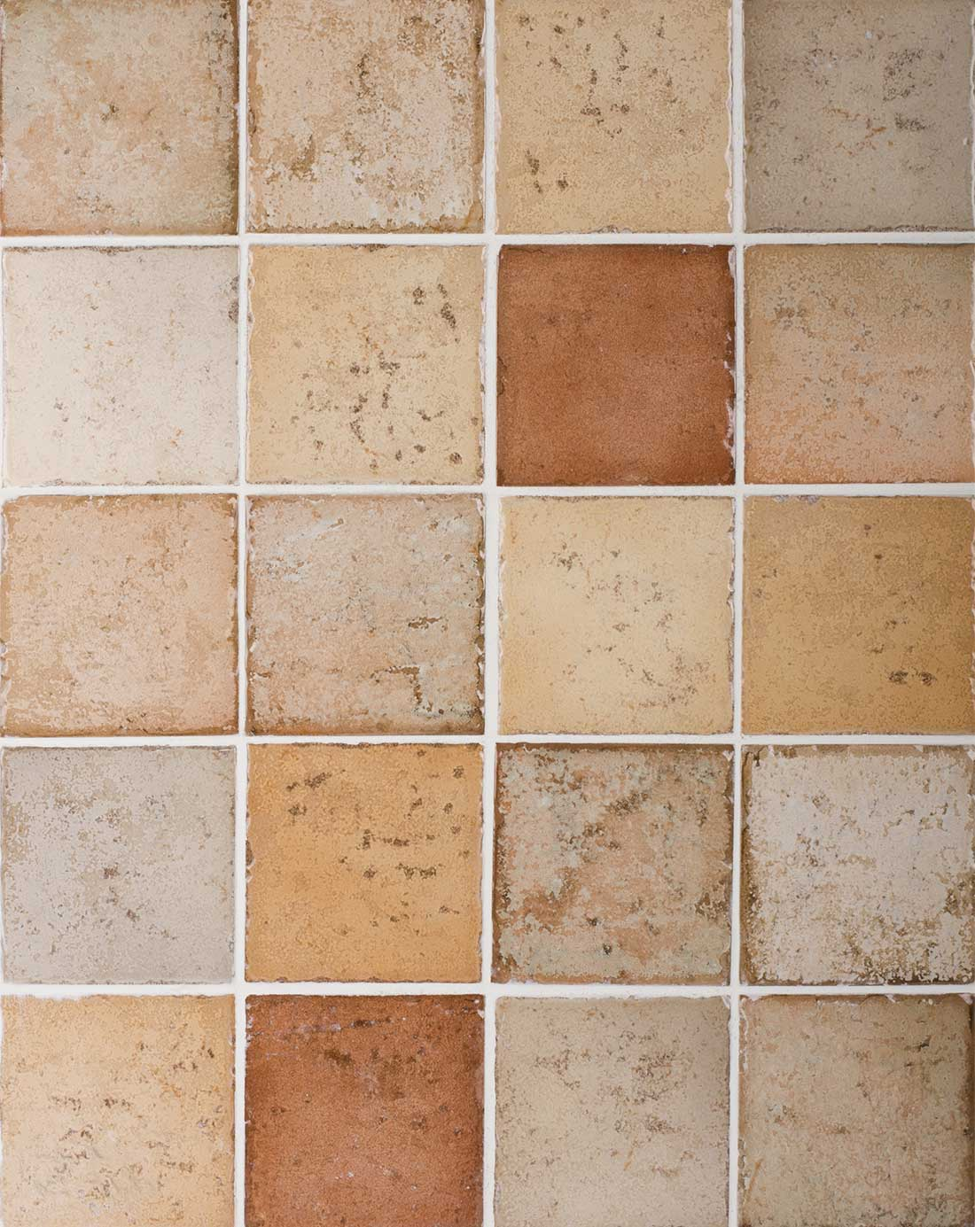 Tile samples for bathroom - Cotto Mattone Tabacco Tortora Mistral Tiles