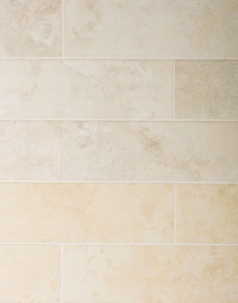 Mediterraneo Marble Tile Ocre & Beige - www.kitchentilesdirect.com