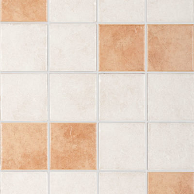 Rustic Wall Tiles Almond & Cotto